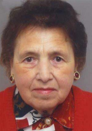 Portrait von Margarete Mayer